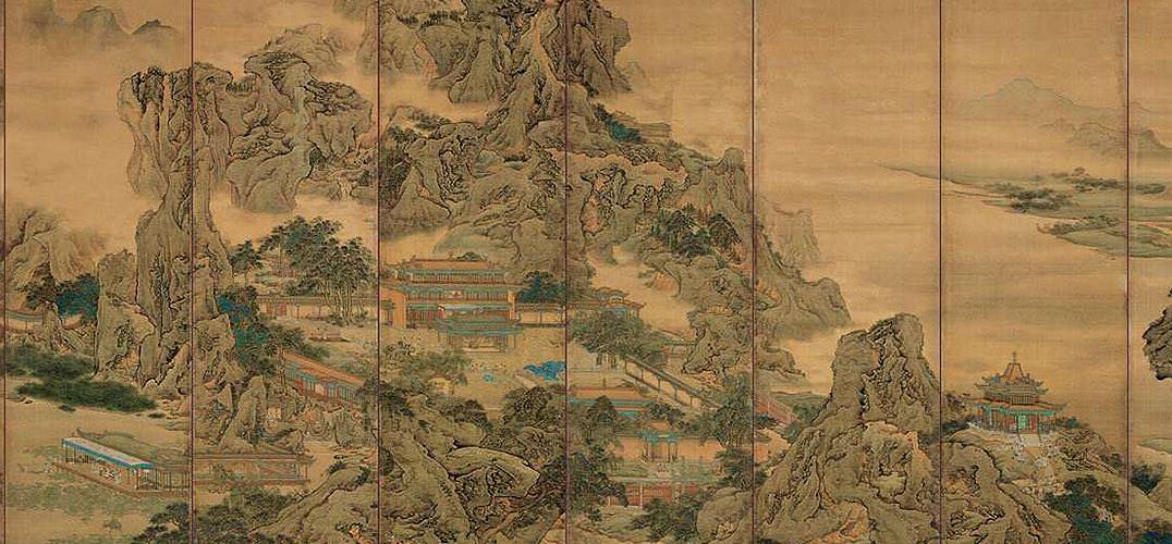 静品界画里的中国古建筑